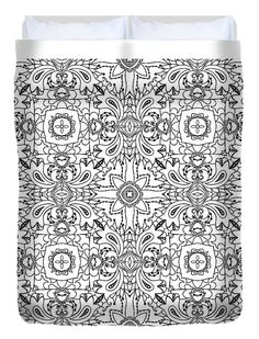 #Mandala - #DuvetCover Our soft #microfiber #duvet cover are #handsewn and included a hidden zipper for easy washing and assembly. Your selected #images is printed on the he top #surface with a soft white #surfaceunderneath. All duvet covers are #machinewashable with #coldwater and a mild detergent. Check out http://fineartamerica.com/products/mandala-1830346-grypons-art-duvet-cover.html See more products on collection…