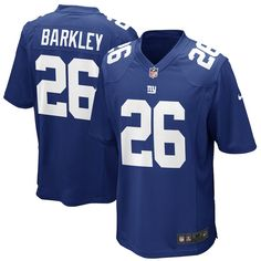 23b59402d Saquon Barkley New York Giants Nike Youth 2018 NFL Draft Pick Game Jersey – Royal  New