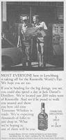 Jack Daniel's in Lynchburg 1982 Ad Picture