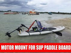 Amazon.com : Kayak Electric Trolling Motor to Stand up SUP Paddle Board - Motor Board / Kayak : Sports & Outdoors