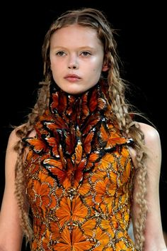 Alexander McQueen's Butterfly Collection. Remind you of anything? ;)