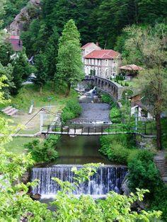 Reka Vučjanka, okolina Leskovca, Južna Srbija.