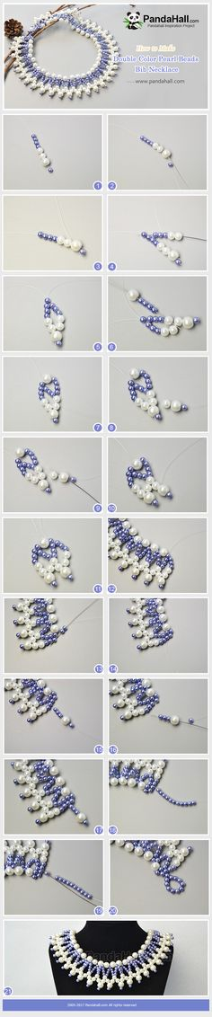 PandaHall Inspiration Project---Double Color Pearl Beads Bib Necklace It's said that purple is the popular color in 2018. PandaHall Beads APP is on, download here>>>goo.gl/jLxpjp 2018 New Year Sale: UP TO 75% OFF,FREE SHIPPING over $349 from Jan 2-23, Free Coupons: PHENPIN5 (Save $5 for $70+) PHENPIN7(Save $7 for $100+) #PandaHall #diynecklace #jewelrymaking #bibnecklace #wave #pearl #purple #wedding #partyjewelry #promotion #handicrafts