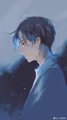 Anime boy art shared by ❍ ℓїʋ เ α ♡ on we heart it Manga Boy, Manga Anime, Anime Art, Cute Anime Boy, Hot Anime Guys, Anime Boys, Dark Boy, Boy Illustration, Anime Kawaii