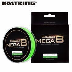 KastKing Mega8 New Braid Line 300Yds/274M 0.14-0.50mm 10-80LB 8...