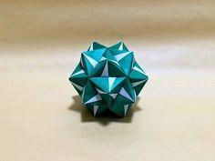 ▶ origami sonobe variation tutorial - YouTube