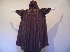 Bill Gibb The Middle Ages Sensational Knit Hooded Coat Skirt Set M L | eBay View 4 of 4