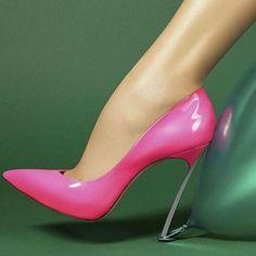 Flamingo shoes.