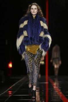 Just Cavalli Ready To Wear Fall Winter 2013 Milan
