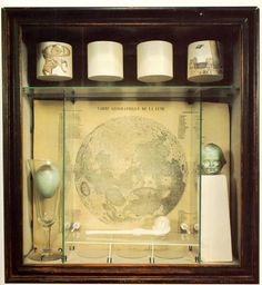 Joseph Cornell. Of course, he *was* a little bit odd .. but then, aren't we all?