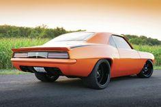 1969 Chevy Camaro rear quarter