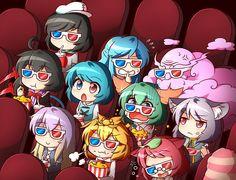Its cinema time (Touhou project)