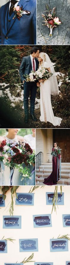 It's official: burgundy and dusty blue are perfect together. If you love Autumn hues, this power color couple is the way to go. It's authentically awesome and unapologetic in its bold sophistication. The dramatic darkness of burgundies and the coolness of the dusty blues create a dream like aesthetic that brides-to-be everywhere are falling in love with. We created a Pinterest Board for you to source more wedding ideas in beautiful shades of burgundy. We also asked our wedding stylist to…