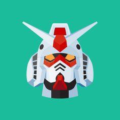 Robots Series by Gianluca Gentile, via Behance