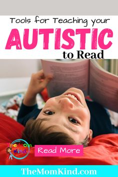 While autism presents itself differently in every child who has it, some will struggle to learn how to read, while others won't. #autismparenting #autism #reading Sensory Activities For Autism, Calming Activities, Autism Resources, Reading Activities, Activities For Kids, Autism Parenting, Parenting Advice, Kids And Parenting, Teaching Autistic Children