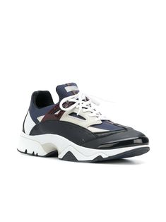 Kenzo chunky panelled sneakers