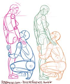 These poses are part of my personal art-challenge...10,000 poses. I use only…