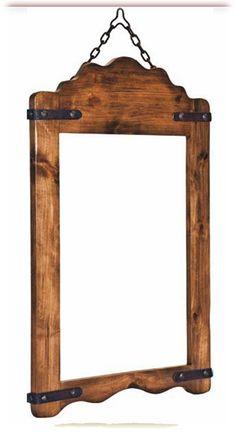 Monterey Mirrors highboy and lowboy pieces, furniture collection, Coleccion de Muebles Mejicanos Monterey Rusticos Mirrors