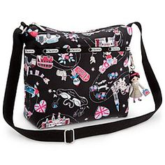 Disney ''it's a small world'' Crossbody Bag by LeSportsac | Disney Store''it's a small world'' Crossbody Bag by LeSportsac - You'll feel London calling every time you use this colorful crossbody bag. Part of LeSportsac's ''it's a small world'' collection, it comes with a charm and pattern inspired by the London, England segment of Disney's famed attraction.