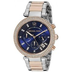 c9bf4f79d8e2 Women  s Michael Kors Watch Parker MK6141 Chronograph... for sale online at  Crivellishopping.co.uk at the best price. Free Shipping.  michaelkors   watches   ...