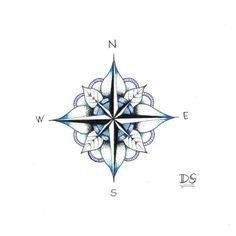 Compass by Diletta Strange Illustration, via Flickr