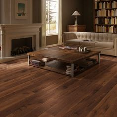 QuickStep PERSPECTIVE Oiled Walnut Planks 2v-groove Laminate Flooring 9.5 mm, QuickStep Laminates - Wood Flooring Centre
