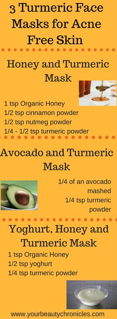 Try these turmeric based face masks to clear your acne and scars
