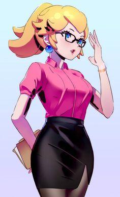 Nintendo Characters, Video Game Characters, Female Characters, Cartoon Characters, Fictional Characters, Alita Battle Angel Manga, Peach Mario, Nintendo Princess, Disney Princess
