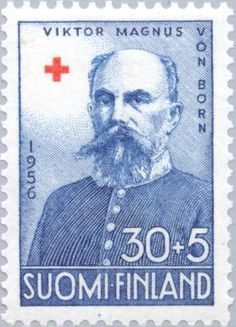 Land Marshal Viktor Magnus von Born (1851-1917) Red Cross, Croissant, Postage Stamps, My Favorite Things, People, The World, Jealousy, Finland, Crescent Roll