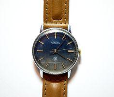 Men's Watch Vintage Collectible USSR RAKETA by bestLuba on Etsy #men'swatch #watch #gifthim #forhim #RAKETA