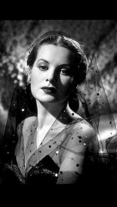 Maureen O'Hara.  So classy and gorgeous