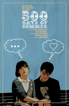 500 Days of Summer Film Poster v3 by sap41387 on Etsy