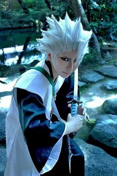 Bleach cosplay. I really like the makeup