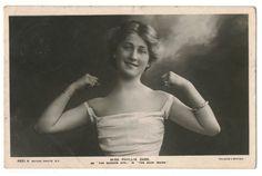 U.S Stage actress Phyllis Dare, 1900s   Flickr by Performing Arts / Artes Escénicas