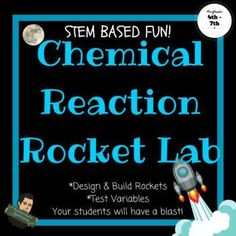 Are you studying matter? This Rocket Lab will be a great culminating activity to your Matter Unit. After learning about chemical reactions, the students will build and launch a rocket. They will then use the data from their launch to create Line Plot Graphs.