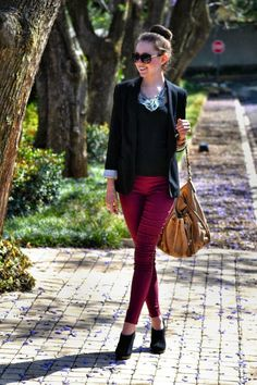 Fall outfit {Bordeaux}
