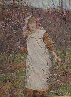 Lionel Percy Smythe (1839-1918), Springtime.