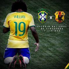 Vamos Brasil!!! Que Deus nos proteja. Brasil x Japão #seleçãobrasileira