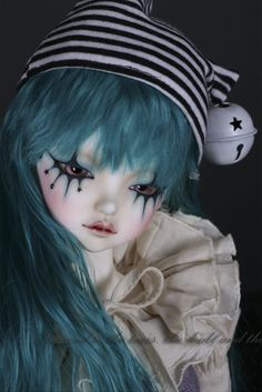 dolldreaming: A.B. / FOC Blue Clown from Peak's Woods