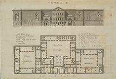 Newgate Prison Floorplan