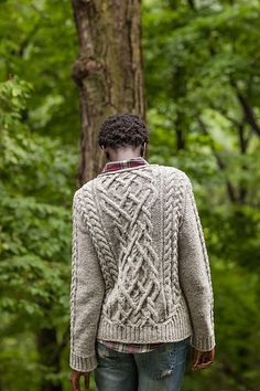 Ravelry: Stonecutter pattern by Michele Wang Love the cable