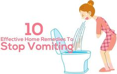 Though vomiting is not a serious health issue, it can be very irksome & needs quick measure to curb the blue sensation. Home remedies for vomiting will help. Read to know.