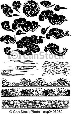 Vector - classic cloud sea water splat - stock illustration, royalty free illustrations, stock clip art icon, stock clipart icons, logo, line art, EPS picture, pictures, graphic, graphics, drawing, drawings, vector image, artwork, EPS vector art