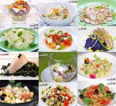 Doce recetas de ensalada sin lechuga