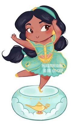 Disney Princess Jasmine, Aladdin And Jasmine, Disney Princess Drawings, Disney Fan Art, Disney Pixar, Raven Queen, Pixar Characters, Disney Pictures, Disney Cartoons
