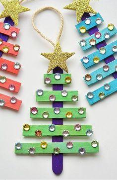 10 enfeites para árvore de Natal que você pode fazer em casa