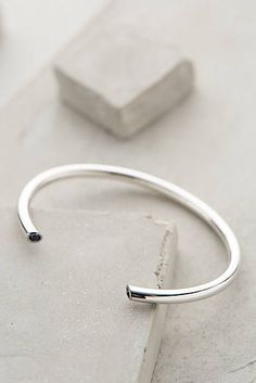 Anthropologie - Elizabeth and James Obi Bangle Metal Bracelets, Bangle Bracelets, Anthropologie Gifts, Bridal Jewelry, Beaded Jewelry, Chunky Silver Rings, Elizabeth And James, Diamond Are A Girls Best Friend, Gold Bangles
