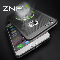 ZNP Hard Back Protect Shell Case For iphone 7 6 6s Plus Cases Full Cover For iphone 6 7 Plus 7Plus Heat dissipation Phone Case //Price: $7.95 & FREE Shipping //     #hashtag3