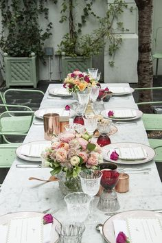 L'ete Indien - An Indian Summer Dinner Party by Laduree - Lonny