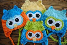 Oh Boy Oh Boy the Owl pattern by Lorene Haythorn Eppolite- Cre8tion Crochet ~ free pattern